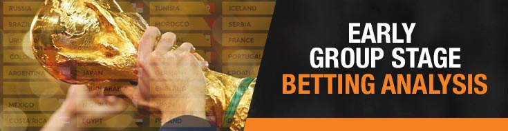 Soccer Early Group Stage Betting