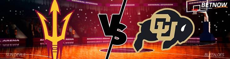 College Basketball Odds Arizona State Sun Devils vs. Colorado Buffaloes – Thurs., Jan. 4th