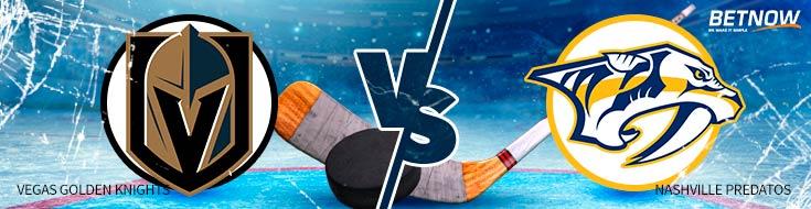 Hockey betting Vegas Golden Knights vs. Nashville Predators – Tuesday, Jan. 16th