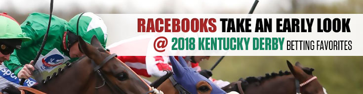 Racebook Odds - Online Horse Betting Preview - 2018 Kentucky Derby Betting Favorites - May 4 through May 5