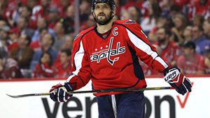Washington Capitals betting odds - Alex Ovechkin - Thursday, February 22