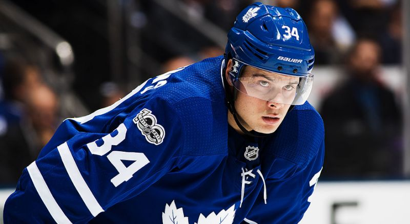 Toronto Maple Leafs vs. Florida Panthers - Auston Matthews - Tuesday, February 27