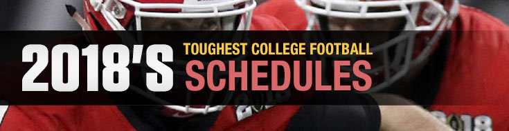 2018 College Football Schedules Betting - College Football Betting Odds