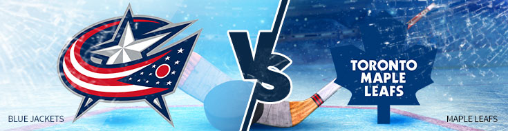 Columbus Blue Jackets vs. Toronto Maple Leafs - hockey betting odds - Tuesday, February 14