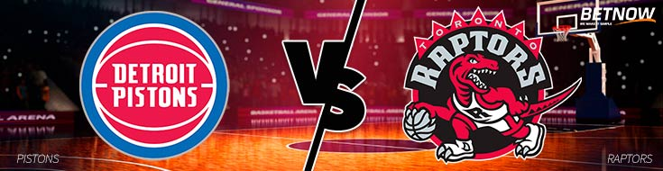 Detroit Pistons vs. Toronto Raptors betting - NBA Odds - Monday, February 26