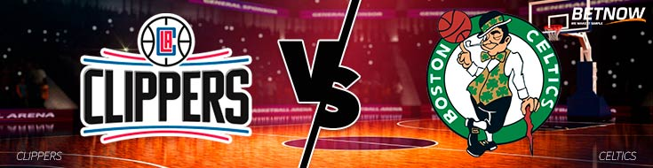 Los Angles Clippers vs. Boston Celtics - Online Basketball Betting Odds - Wednesday, February 14