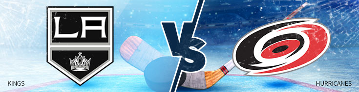 Los Angeles Kings vs. Carolina Hurricanes - Online Hockey Betting Odds - Tuesday, February 13