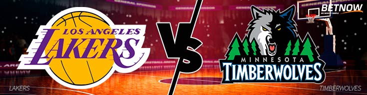 Los Angeles Lakers vs. Minnesota Timberwolves - Online NBA Betting Odds - Thursday, February 15