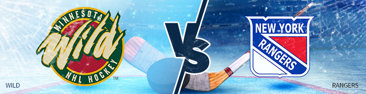 Online NHL Betting Odds - Minnesota Wild vs. New York Rangers - Betting Preview