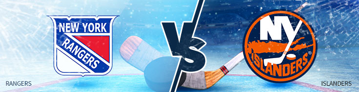 New York Rangers vs. New York Islanders - NHL Hockey Betting Odds - Thursday, February 15
