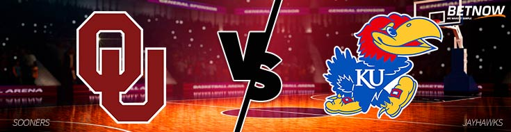 Monday, February 19 - Oklahoma vs. Kansas Basketball - Betting NCAA Basketball Odds