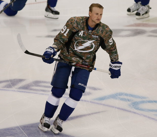 Toronto Maple Leafs vs. Tampa Bay Lightning Betting - Monday, February 26 - Team Captain Steven Stamkos