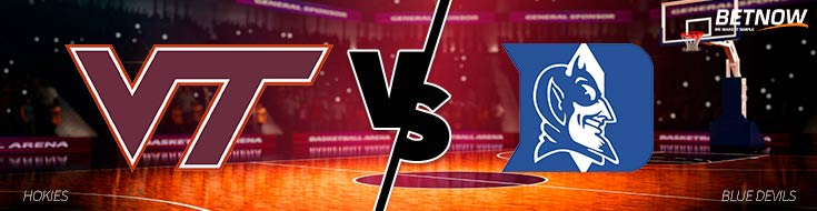 Virginia Tech vs. Duke Basketball - College Basketball Betting Odds - Tuesday, February 14