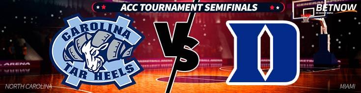 North Carolina vs. Duke Basketball - ACC Tournament Semifinals