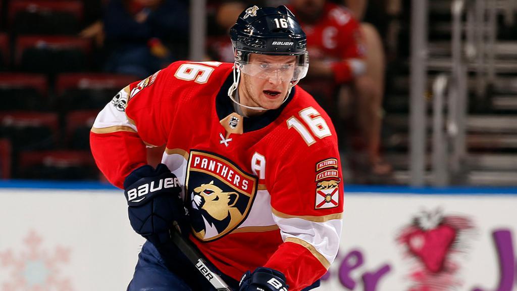 Aleksander Barkov leads the Panthers in tonight's Ottawa Senators vs. Florida Panthers matchup