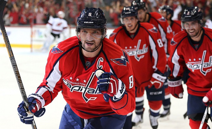 Alex Ovechkin leads his team in tonight's Washington Capitals vs. Los Angeles Kings betting matchup