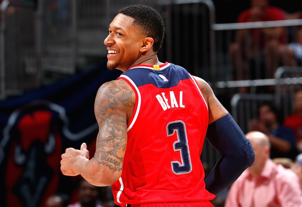 Bradley Beal - Toronto Raptors vs. Washington Wizards - Friday, March 2