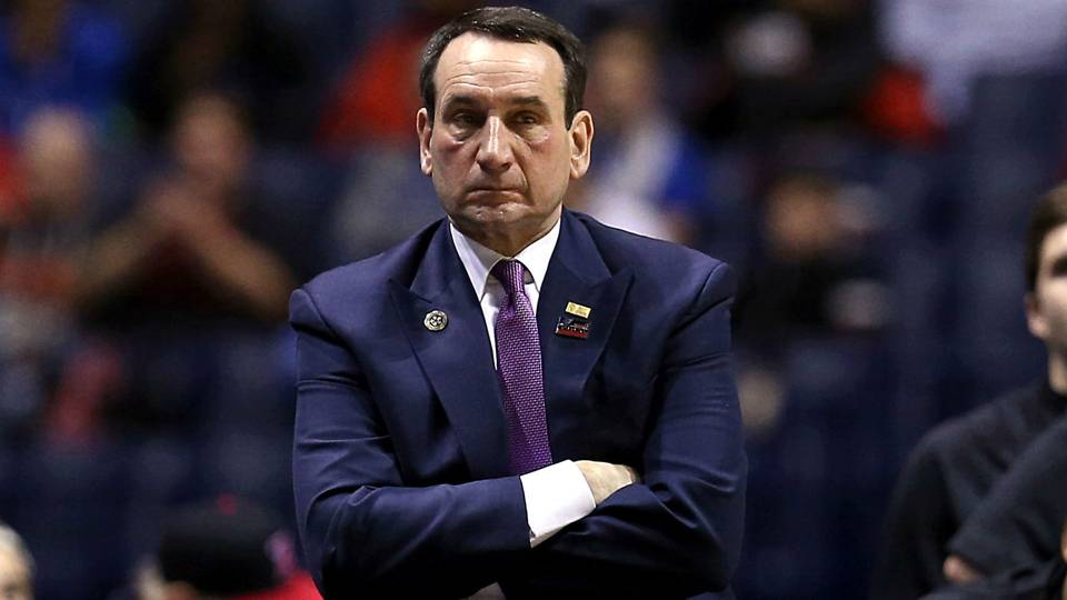 Coach K leads the Blue Devils in Friday's Syracuse vs. Duke Basketball betting matchup