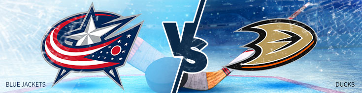 Columbus Blue Jackets vs. Anaheim Ducks - Friday, March 2 - NHL Betting Odds