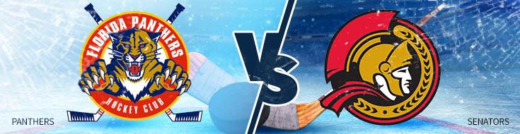 NHL Betting Preview & Odds Florida Panthers vs. Ottawa Senators