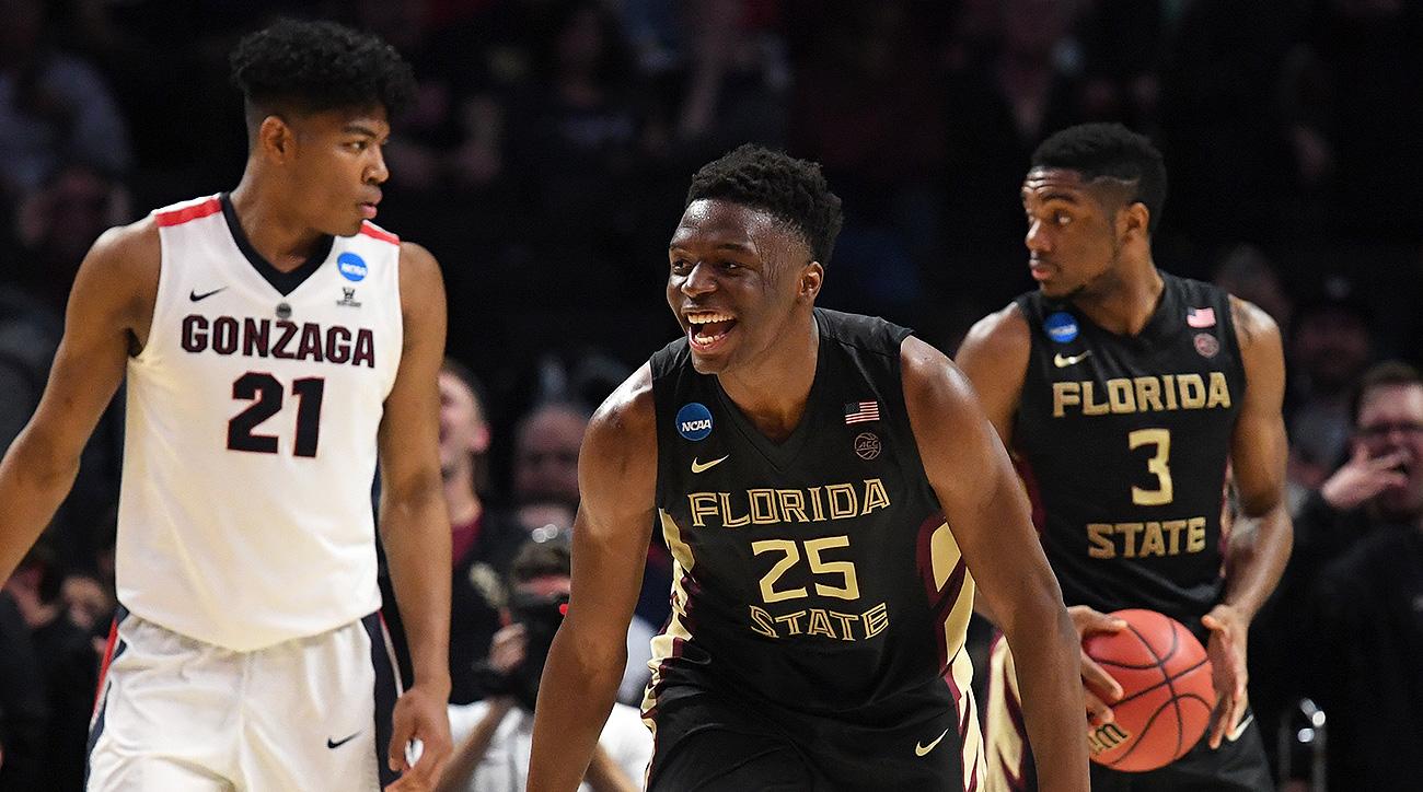 Florida State Basketball Celebrates making the Elite Eight