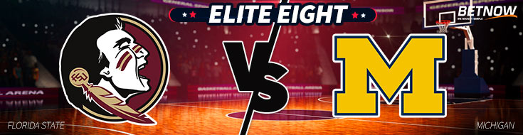 Elite Eight Betting Preview & Odds of Florida State vs. Michigan basketball matchup