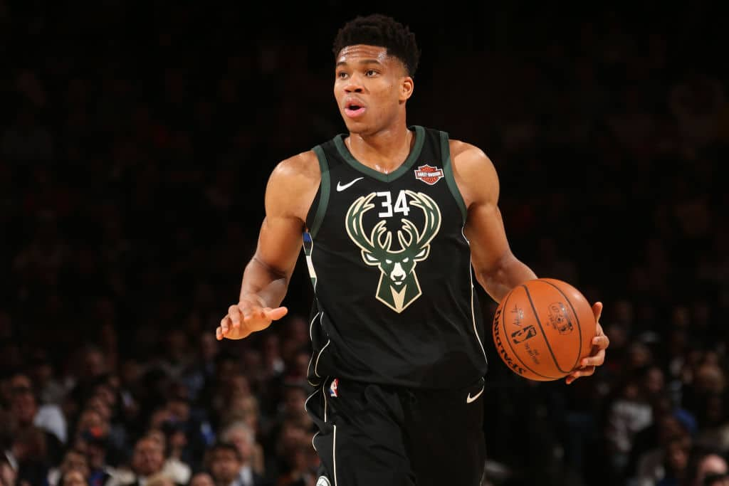 Giannis Antetokounmpo - Milwaukee Bucks vs. Indiana Pacers
