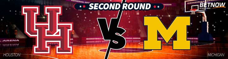 Houston Cougarsvs. Michigan Wolverines - March Madness Betting odds and Picks