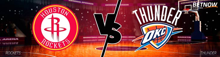 Houston Rockets vs. Oklahoma City Thunder - NBA Betting Odds & Preview