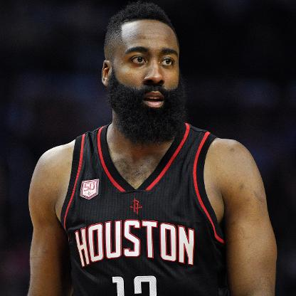 James Harden leads the Rockets in tonight's San Antonio Spurs vs. Houston Rockets matchup