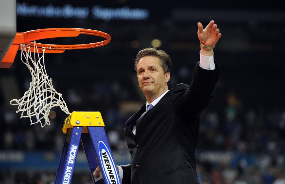 John Calipari leads the Wildcats in Thursday's Kansas State vs. Kentucky Basketball matchup