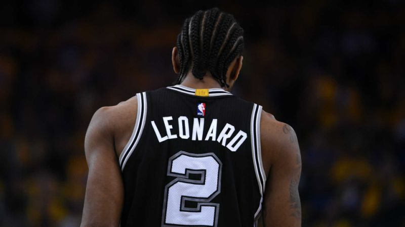 Kawhi Leonard will be out in tonight's San Antonio Spurs vs. Houston Rockets matchup