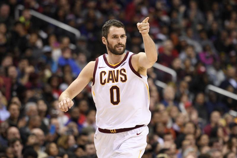 Kevin Love - Philadelphia 76ers vs. Cleveland Cavaliers