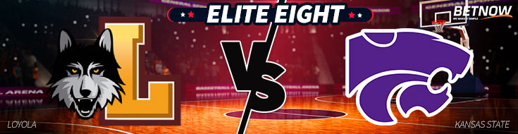 Elite Eight Betting Preview of Loyola (Chi) vs. Kansas State Basketball matchup
