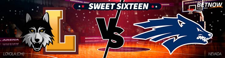 NBA Betting Preview of Loyola (Chi) vs. Nevada Basketball matchup