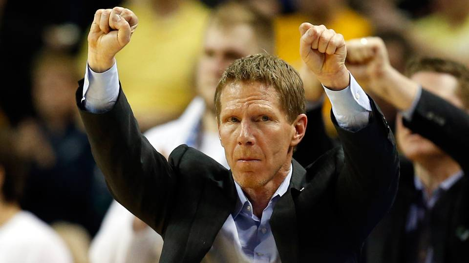 Mark Few leads the Bulldogs in the Ohio State vs. Gonzaga Basketball Second Round matchup