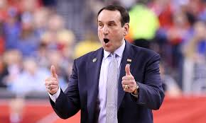 Mike Krzyzewski leads the Blue Devils in Thursday's Iona vs. Duke Basketball matchup