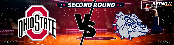 NBA Betting Preview of the SEcond Round Ohio State vs. Gonzaga Bulldogs Matchup