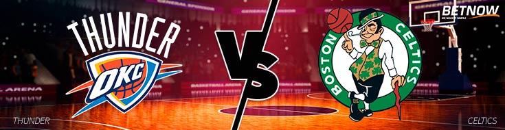 Oklahoma City Thunder vs. Boston Celtics NBA betting Odds & Preveiw