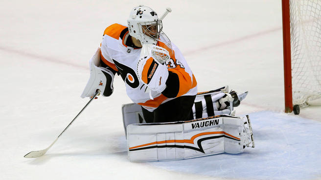 Petr Mrazek leads the Flyers in tonight's Pittsburgh Penguins vs. Philadelphia Flyers contest