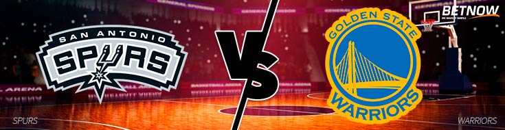 A sportsbook preview of Thursday's San Antonio Spurs vs. Golden State Warriors betting matchup