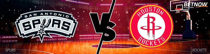 An NBA Betting Preview of tonight's San Antonio Spurs vs. Houston Rockets matchup