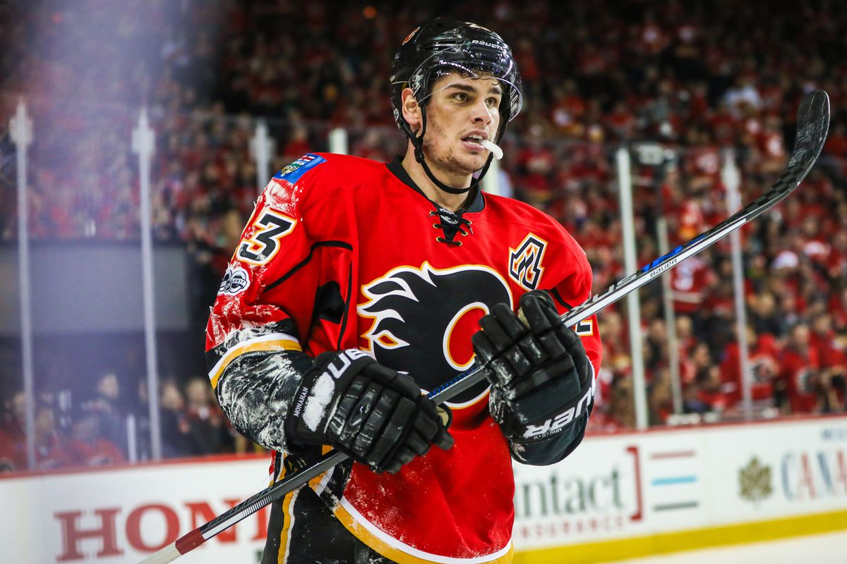 Sean Monahan leads Calgary in Friday's Calgary Flames vs. Ottawa Senators matchup