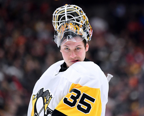Tristan Jarry leads his team in tonight's Pittsburgh Penguins vs. Philadelphia Flyers matchup