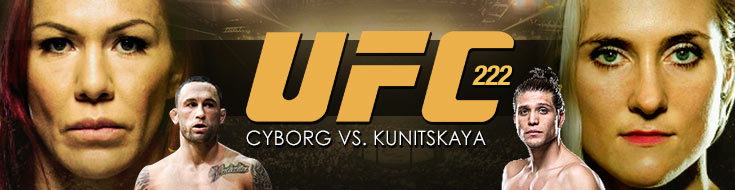 UFC 222 Betting - UFC Odds - Cyborg vs. Kunitskaya - Betting PReview