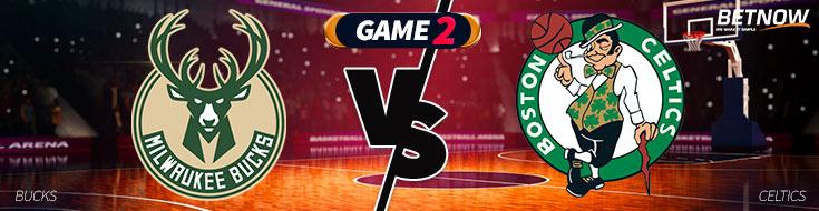 Milwaukee Bucks vs. Boston Celtics Betting PReview of Game 2