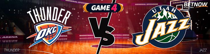 Oklahoma City Thunder vs. Utah Jazz Game 4 Betting Preview