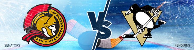Ottawa Senators vs. Pittsburgh Penguins NHL Betting Preview