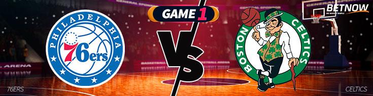 Philadelphia 76ers vs. Boston Celtics NBA Betting Preveiw Game 1