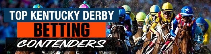 Racebook Look at Top Kentucky Derby Betting Contenders